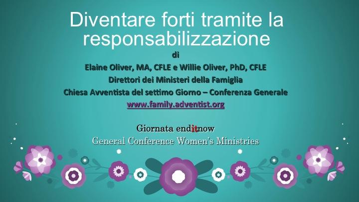 Giornata Internazionale di Prevenzione degli Abusi (enditnow) – 2014 (seminario)