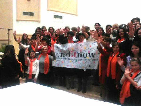ORANGE DAY in chiesa rumena-2