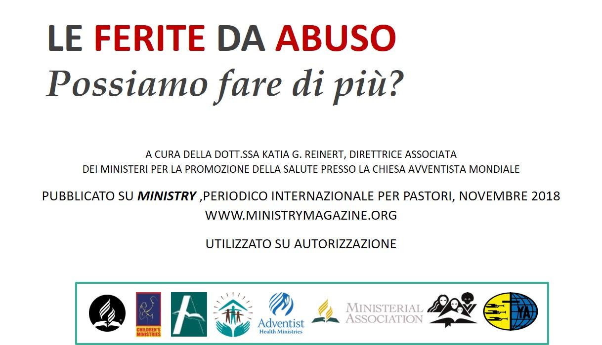 Giornata Internazionale di Prevenzione degli Abusi (enditnow®) – 2020 (seminario e scheda in power point)