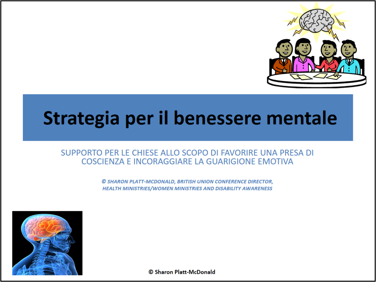 Giornata Internazionale di Prevenzione degli Abusi – 2012 (Strategia per il benessere mentale – ppt)